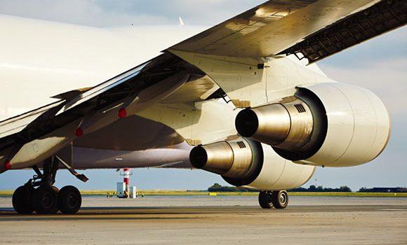 vinge i flyet